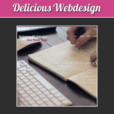 Delicious Webdesign