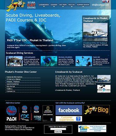 Scuba Dive Websites